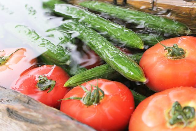 8月の旬の野菜・果物
