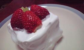 米粉のスポンジで憧れの【いちごケーキ】