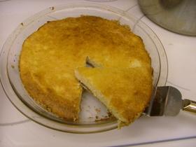 アメリカ おからチーズケーキ