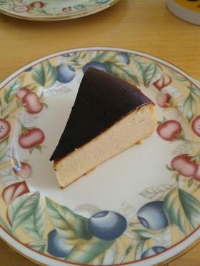 黒砂糖と豆乳のベイクドチーズケーキ