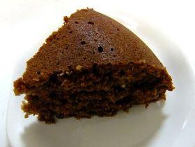 炊飯器できなこチョコケーキ