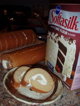 SoftaSilkで簡単ロールケーキ