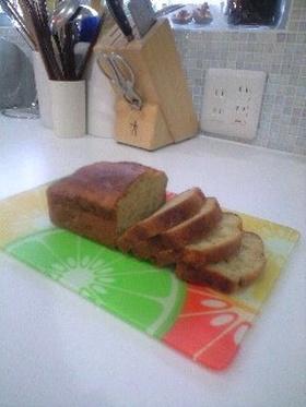 オリーブオイルで☆バナナパウンドケーキ