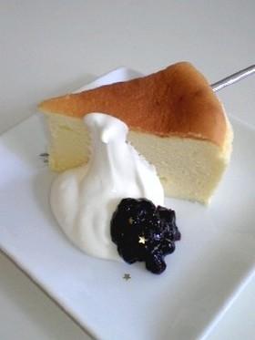 しっとりふんわりスフレチーズケーキ