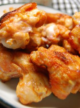 鶏もも肉の味噌ヨーグルト漬け