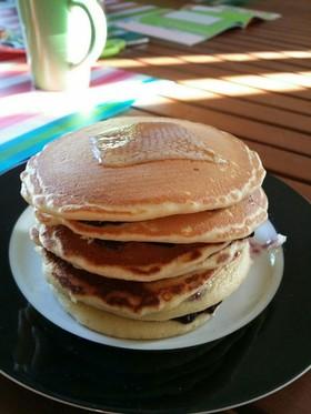 オーストラリアで簡単 ☆パンケーキ☆