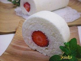 ホワイトデーに♡純白ロールケーキ