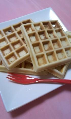 朝ご飯・おやつに☆ワッフル☆