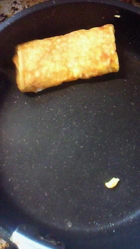 卵一個と丸フライパンで厚焼き玉子風 by みーふん [クック ...