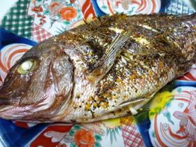 鯛のオーブン焼き ハーブ風味