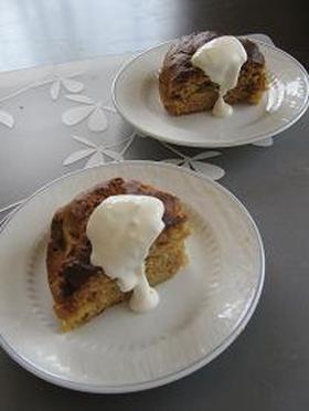 ホットケーキミックス使用 秘密の森ケーキ