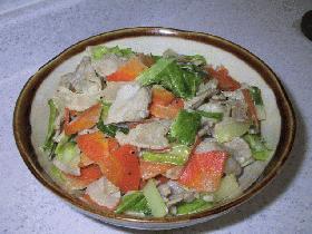 豚肉とキャベツのマヨ炒め