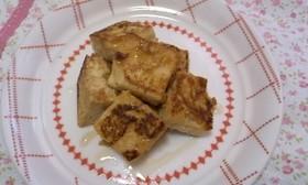冷凍豆腐で*きなこフレンチトースト