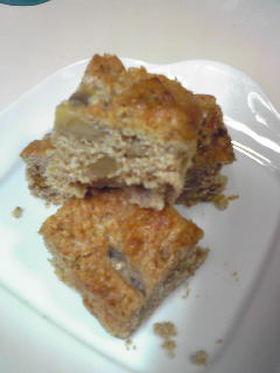 小麦ふすま入りバナナケーキ
