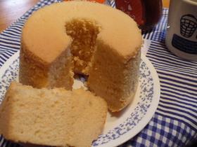 大豆粉シフォンケーキ
