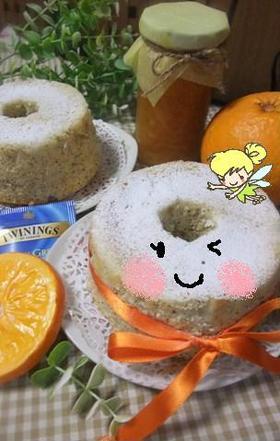 ふんわ~りオレンジ香る♡紅茶のシフォン