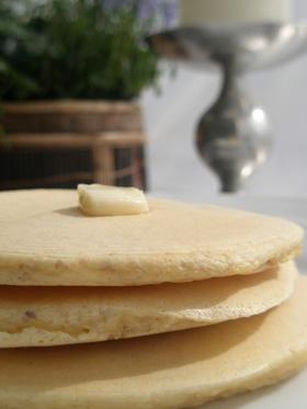 ふんわり全粒粉&グラハム粉のホットケーキ