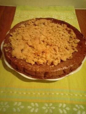 小豆のチーズケーキ~香ばしクランブル~