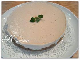 チーズ小麦バター不使用☆レアチーズケーキ