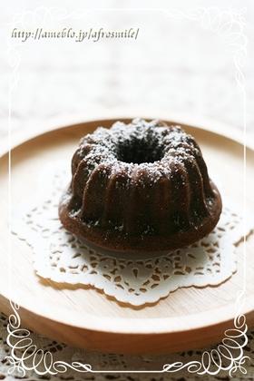 クグロフショコラ☆濃厚チョコケーキ♪