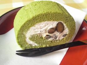 抹茶と黒豆のスフレロール(ミニサイズ)