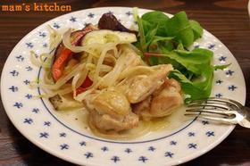 鶏&野菜の蒸し焼き