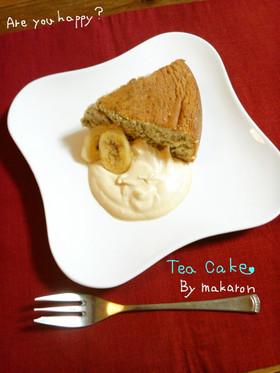 紅茶のスポンジケーキ