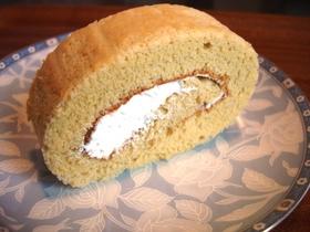 乳製品無し 米粉のロールケーキ