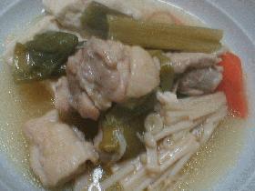 ♪鶏肉と豆腐の中華風煮物♪