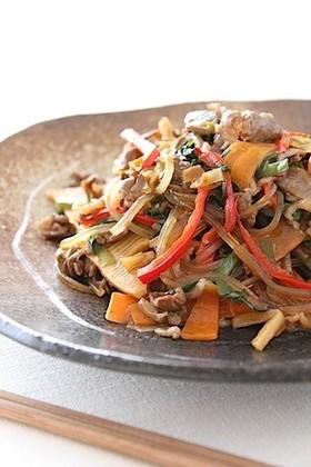 簡単♡韓国料理*チャプチェ*