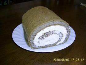 大豆粉キャラメルコーヒー・ロールケーキ