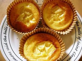 パイナップルのカップケーキ
