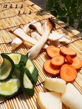 干し野菜の作り方。