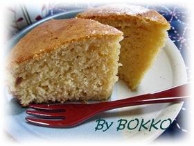 さっぱりした大人の味・ジンジャーケーキ