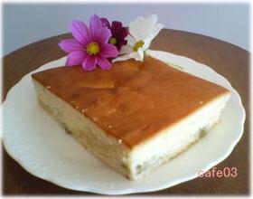 ルバーブケーキ