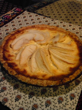 甘酸っぱいりんごのタルト