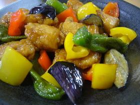 ✲鶏肉と彩り野菜の炒めもの✲