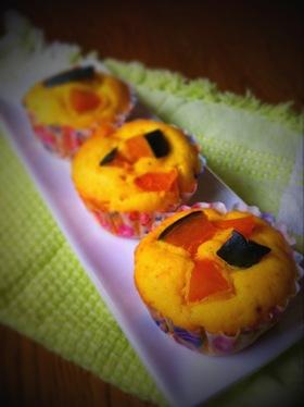 かぼちゃ★カップケーキ★