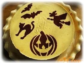 かぼちゃのレアチーズケーキ!!