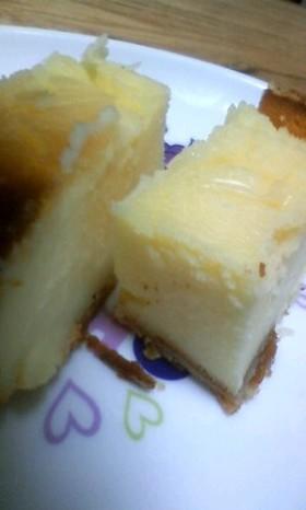 ホームベーカリーでベイクドチーズケーキ♪