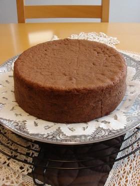 濃厚◆アーモンドココアスポンジケーキ◆
