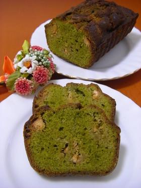 抹茶パウンドケーキ~ホワイトデーに~