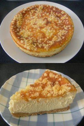 ゴーダチーズ入りベイクドチーズケーキ