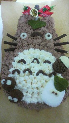 トトロのデコレーションケーキ  これも手作り!?クックパッドのデコレーションケーキレシピまとめ , NAVER まとめ