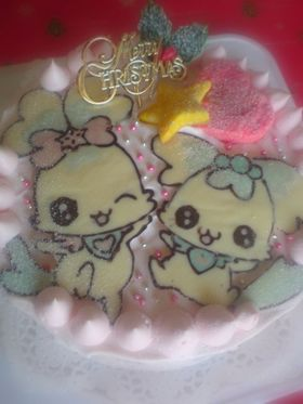 クリスマスケーキ☆スフレ、コフレキャラ
