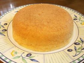 炊飯器で簡単!卵不使用スポンジケーキ