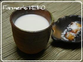 【農家のレシピ】酒粕の甘酒