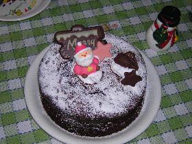 ☆ビターな♪シンプルチョコレートケーキ☆