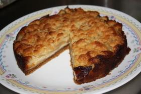 林檎のクランブル・ケーキ★フープロで簡単