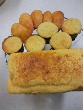 ホットケーキミックスで簡単パウンドケーキ